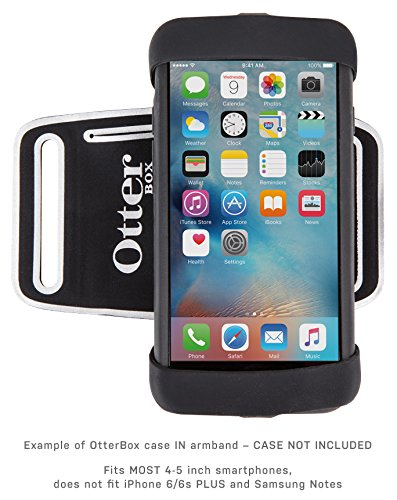 OtterBox Universal Armband for 4''-5'' Smartphones - Retail Packaging - Black by OtterBox (Image #1)