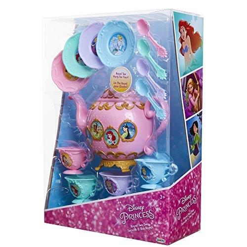 51Nh1lnj0ML - Disney Princess Royal Story Time Tea Set Pretend Play Toys