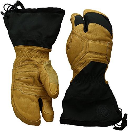 - Black Diamond Men's Guide Finger Gloves, Natural, Large