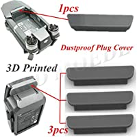 XSD MODEL 4pcs 3D Printed Dustproof Plug Cover For DJI Mavic PRO frame and Battery (1PCS for frame,3PCS for Battery)