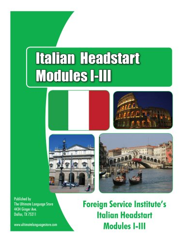 Defense Language Institute's Italian HeadStart Course Level 1 Text