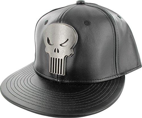 Marvel Punisher Metal Logo Snap Hat - Punisher Snap