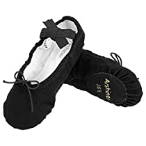 Arshiner Kid Girls Classic Ballet Dancing Yoga Shoes