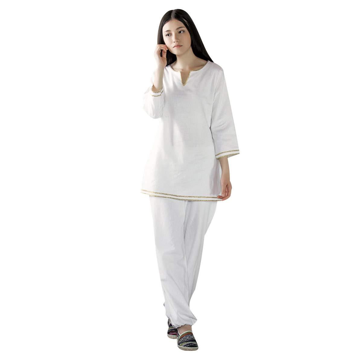 Amazon.com: KSUA Zen - Traje de meditación para mujer ...