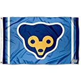 Chicago Cubs Retro 70s Logo Flag and Banner