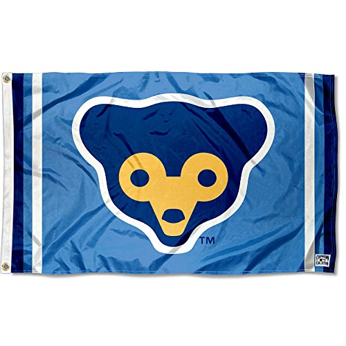 WinCraft Chicago Cubs Retro 70s Logo Flag and Banner