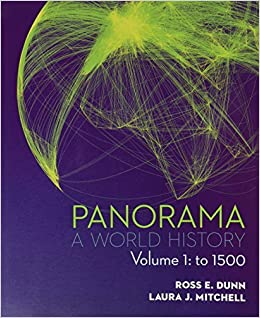 Book Panorama: A World History Volume 1: To 1500 by Ross Dunn (2014-01-09)