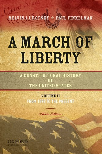 A March of Liberty: A Constitutional History of th…