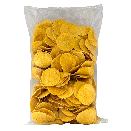 Gold Medal Products El Nacho Grande Bulk Tortilla Chips - 4/24oz bags
