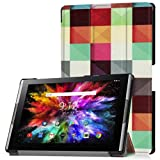 DDLBiz Ultra-Thin Flip Leather Case Cover Holder For Acer Tab10 A3-A50 10.1Inch (B)