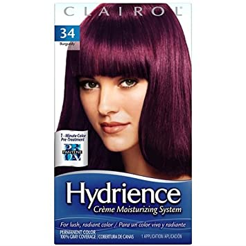 Amazon.com : Clairol Hydrience Hair Color, Tropic (034) : Chemical ...