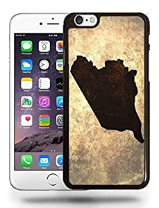 Syria National Vintage Country Landscape Atlas Map Phone Case Cover Designs for iPhone 6 Plus