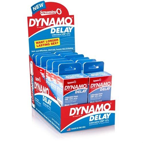 DD-R12-110D - Dynamo Delay Spray - 12 Pack Display by Screaming O