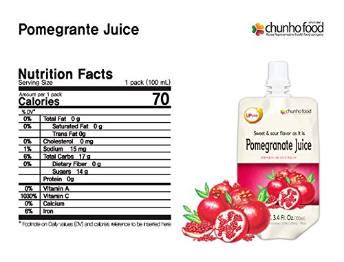 (Special Promotion) Chunho Food Pomegranate Juice