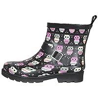 Capelli New York Ladies Short Sporty Rubber Rain Boot