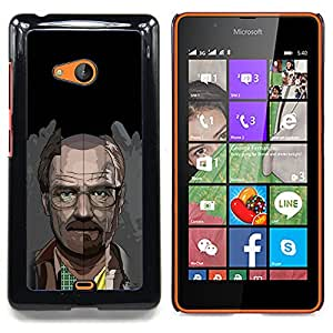 SKCASE Center / Funda Carcasa protectora - Meth Cocine;;;;;;;; - Nokia Lumia 540
