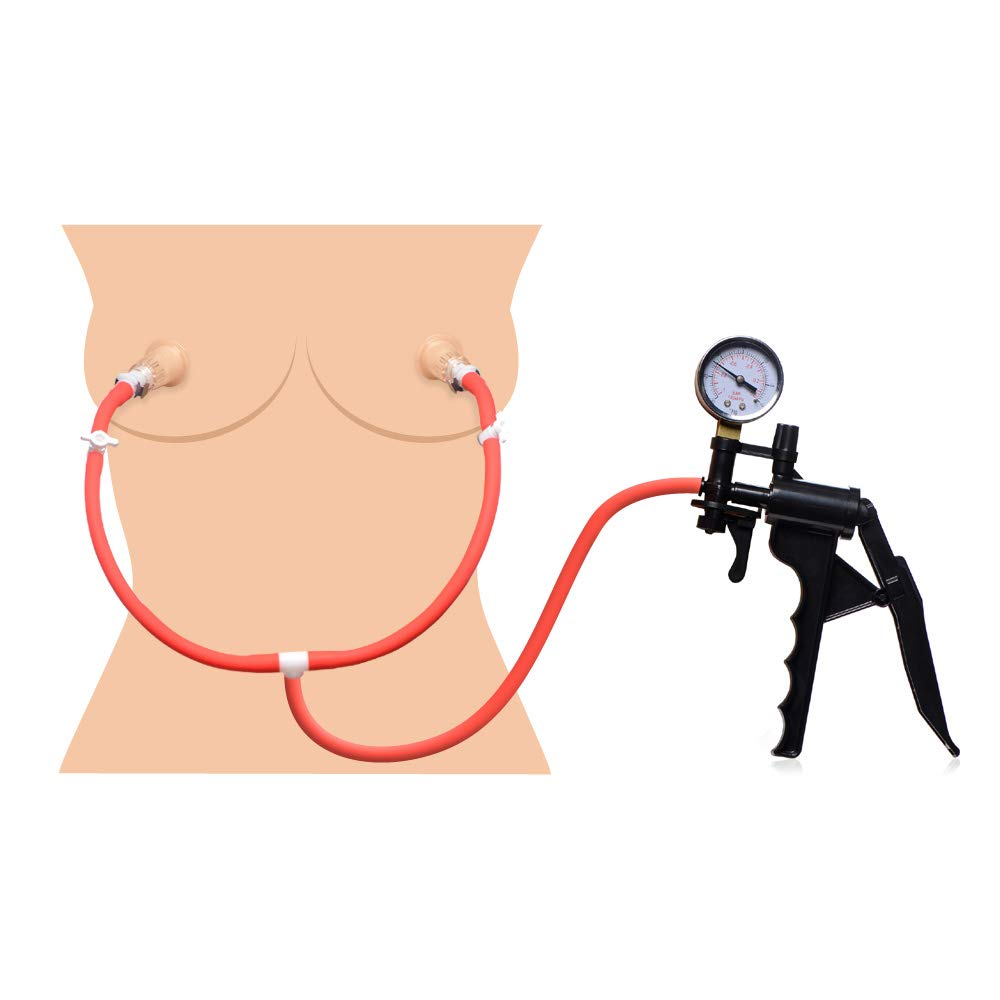 Double Suck Nipple Pump System by Master Series