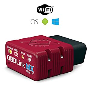 ScanTool OBDLink MX Wi-Fi: OBD Adapter/Diagnostic Scanner for iOS, Android & Windows