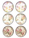 LilMents 3 Pairs Elegant Floral Flowers Womens Stainless Steel Stud Earrings Set