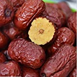 Dried fruit jujube high grade Chinese red dates Hong Zao 3 Pound (1362 grams) from Shanxi