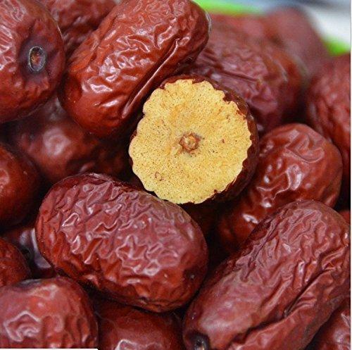 Frutos secos jujube de alto grado chino fechas rojas Hong Zao 2 libras (908 gramos) de Shanxi: Amazon.es: Alimentación y bebidas