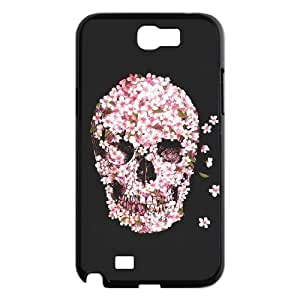 Skull Use Your Own Image Phone Case for Samsung Galaxy Note 2 N7100,customized case cover ygtg556597