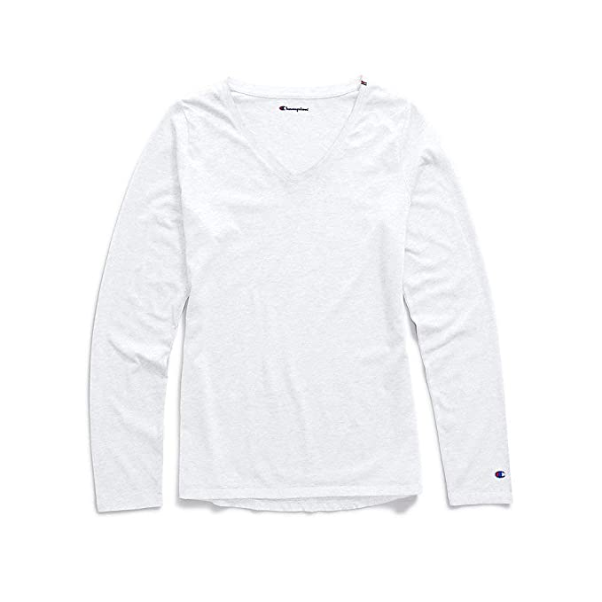 4f6bd2c12 Champion Authentic Wash Long Sleeve Tee (W3138) at Amazon Women's Clothing  store: