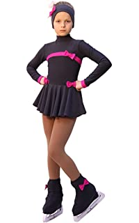 Split IceDress Figure Skating Outfit Coral