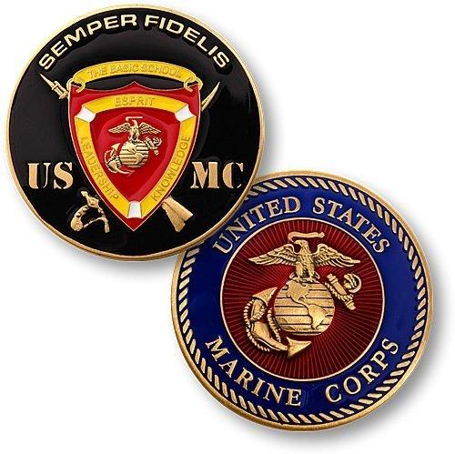 The Basic School - Marine Challenge Coin Set