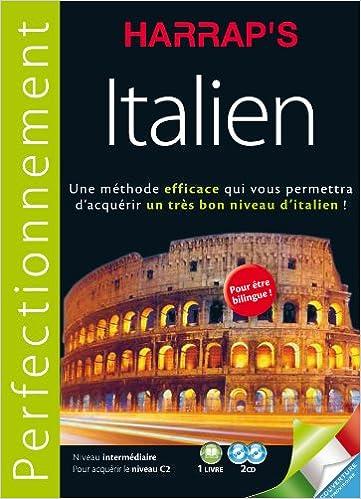 Livre gratuits Harrap's méthode Perfectionnement Italien 2CD + livre pdf, epub