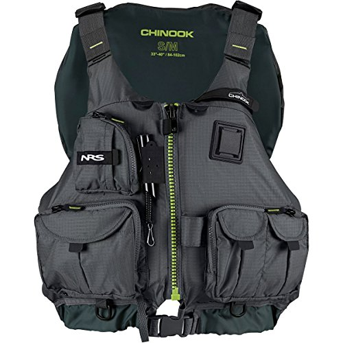 NRS Chinook Fishing PFD Charcoal L/XL price