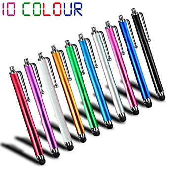 10 PCS Universal Capacitive Stylus Pen