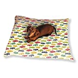 Retro Ride Dog Pillow Luxury Dog / Cat Pet Bed