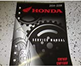 2004 2005 2006 2007 2008 Honda CRF80F CRF100F Service Shop Repair Manual FACTORY