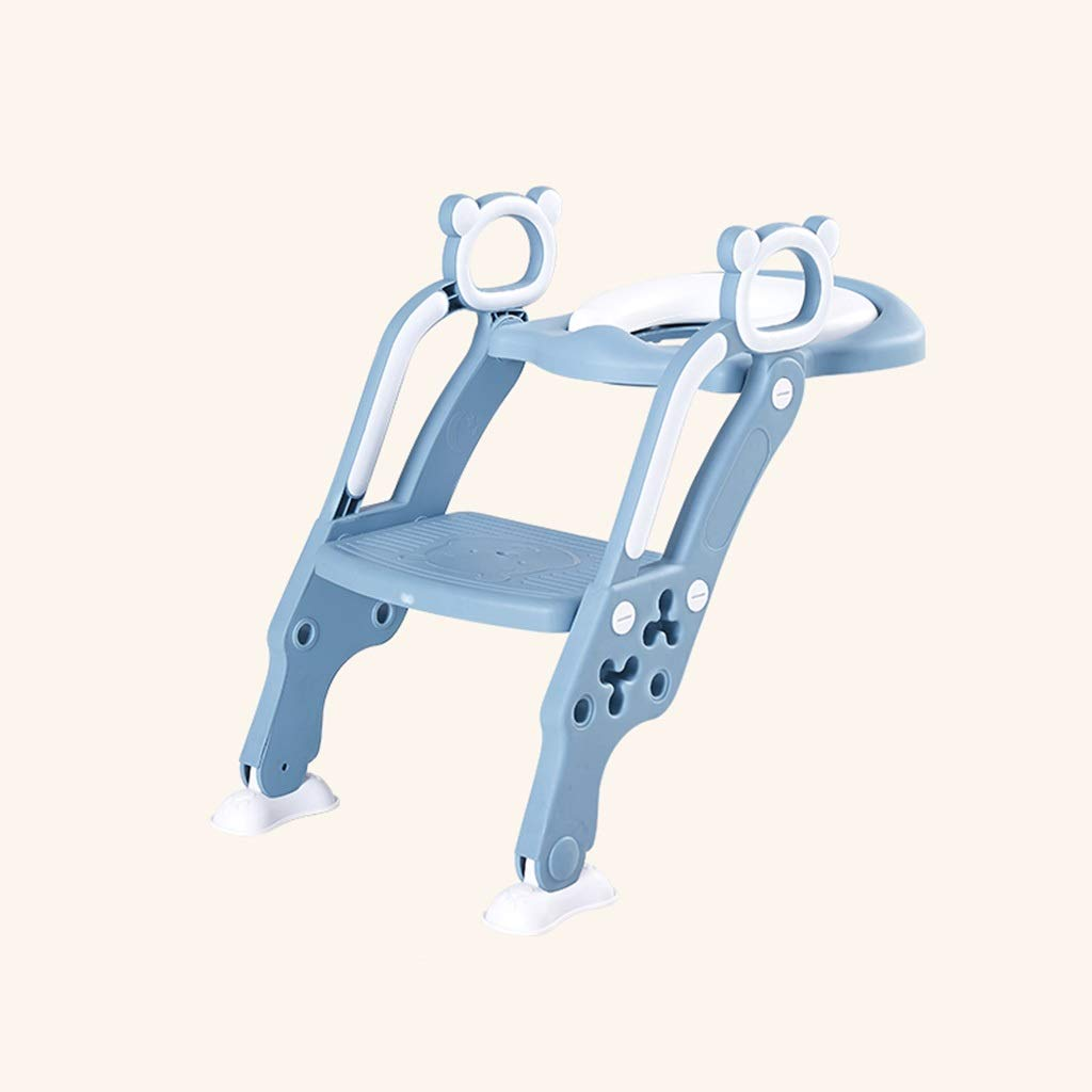 XWJC Children's Ladder Toilet Toilet Ladder Baby Child Training Folding Infant Unisex Large