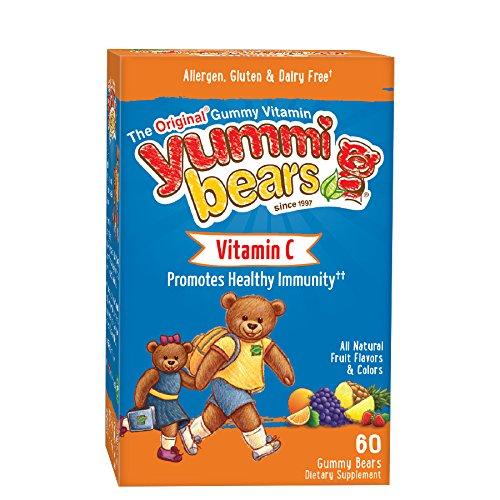 Yummi Bears Vitamin C Supplement for Kids, 60 Count