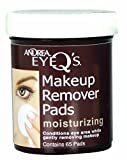Andrea Eye Q's Eye Makeup Remover Pads Moisturizing 65 Pads