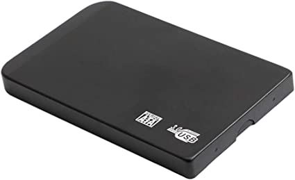 USB 3.0 SATA 外付ハードディスクドライブ 2.5インチ 超薄 黒色 - 500GB