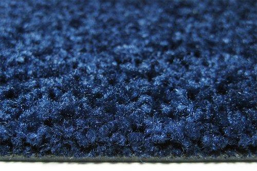 Deko-Matten-Shop Fußmatte Classic, Schmutzfangmatte, halbrund, 55x110 cm, Dunkelblau, in in in 10 Größen und 11 Farben B079H12757 Fumatten ead3b2