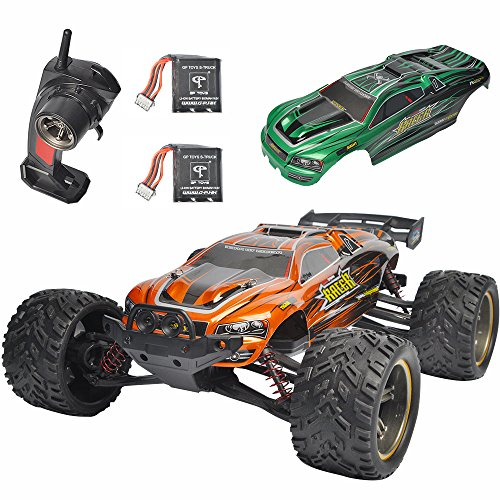1 Sheet Winch (GP Toys Luctan S912 RC Trucks Upgraded Cars with More Durable Gears 33MPH 1:12 Scale Waterproof Off Road Monster Hobby Remote Control Mud Truggy Toys with Extra Gear, Battery, Covers (Orange + Green))