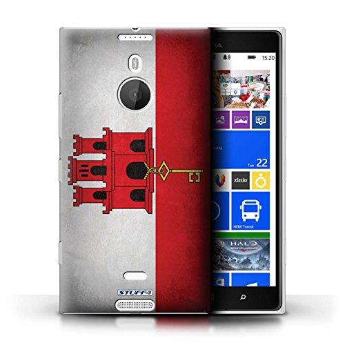 Kobalt® Imprimé Etui / Coque pour Nokia Lumia 1520 / Gibraltar conception / Série Drapeau