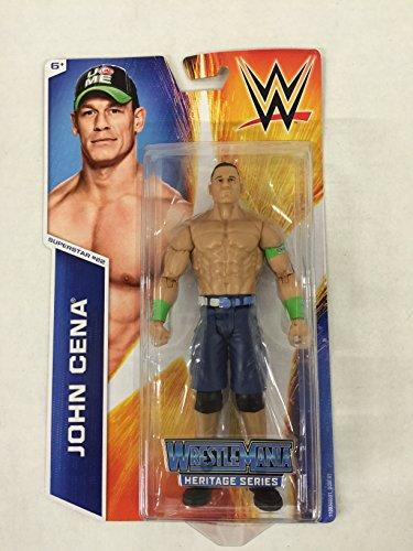 WWE Figure Heritage Series -Superstar #22 John Cena Figure