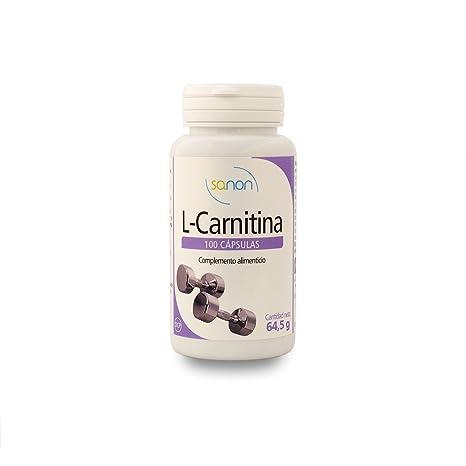 SANON L-Carnitina 100 cápsulas de 645 mg