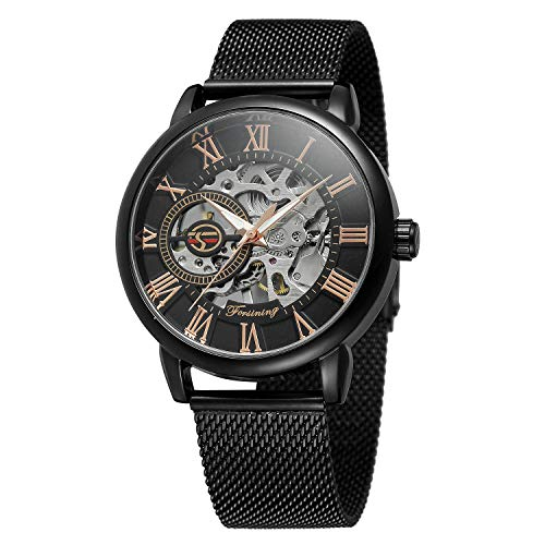 Used, Bestn Men's Hand-Wind Mechanical Wrist Watch Skeleton for sale  Delivered anywhere in USA