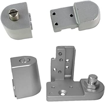Pacific Doorware Kawneer Style Top Bottom Pivot Hinge Set For Commercial Adams Rite Type Storefront Door Choose Handing Finish Left Hand In Aluminum Amazon Com