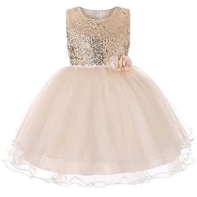 Kinder Mädchen Kurzarm Prinzessin Kleid Kostüm Partykleid Abendkleid Festkleider