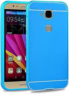 Prevoa ® 丨Aluminum Bumper Funda PC Back Cover Case para Huawei G8 ...