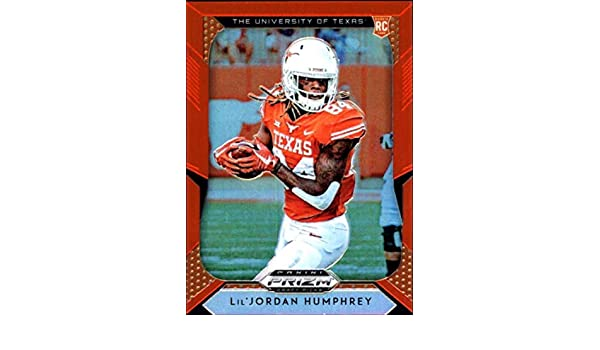 073f6fad7406e Amazon.com: 2019 Prizm Draft Picks (NFL) Prizm Orange Refractor #130 ...