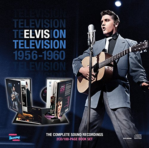 Elvis On Television 1956-1960: Complete Sound Recordings (2Cd/Book) (The Best 60 Inch Tv)