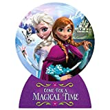 Amscan Disney Frozen Magical Time Deluxe Jumbo Postcard Party Invitation (8 Piece), 8'' X 6'', Purple